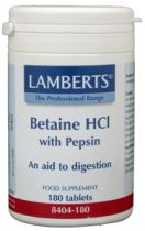 Lamberts Betaine Hcl/Pepsine 180 tabletten