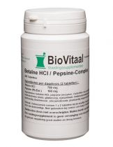 Biovitaal Betaine Hcl Pepsine complex 200 tabletten