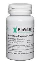 Biovitaal Bromelaine Papaine complex 100 tabletten