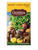 Celestial Seasonings Jammin lemon ginger tea Gezondheidswebwinkel