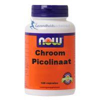 NOW Chroom Picolinaat 200 mcg 100 capsules gezondheidswebwinkel