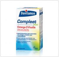 Compleet Omega 3 Visolie Davitamon gezondheidswebwinkel