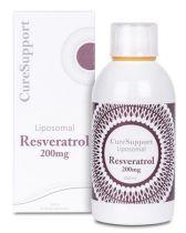 Curesupport Liposomal resveratrol 200 mg 250 ml gezondheidswebwinkel