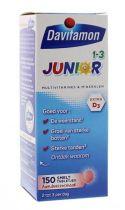 Davitamon Junior 1+ smelttablet 150 tabletten