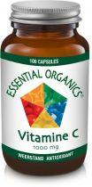 Essential Organics Vitamine C 1000 mg 100 capsules gezondheidswebwinkel