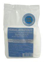 Esspo Himalayazout tafelzout wit fijn navulverpakking 950 gram gezondheidswebwinkel