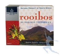 Jacob Hooy Rooibosthee Sakkies 80 builtjes
