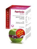 Fytostar Appelazijn 1200 maxi 120 tabletten gezondheidswebwinkel