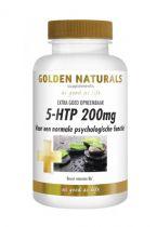 Golden Naturals 5-HTP 200 mg 60 gezondheidswebwinkel