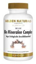 Golden Naturals bio mineralen complex 60 vegicapsules gezondheidswebwinkel