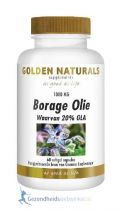 Golden Naturals Borage olie gezondheidswebwinkel
