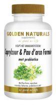 Golden Naturals Caprylzuur pau d arco formula 60 capsules