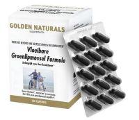 Golden Naturals Groenlipmossel vloeibare formule 120 softgels