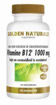 Golden Naturals Vitamine B12 1000 mcg vega 240 zuigtabletten Gezondheidswebwinkel