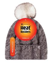 Heat Holders Dames Muts met Pom fawn