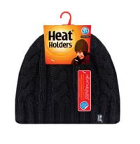Heat Holders Dames Muts one size black