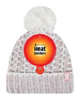 Heat Holders Dames Muts one size coral-cream