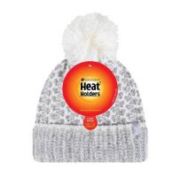 Heat Holders Dames Muts one size grey-cream