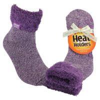 Heat Holders Dames Thermosokken 37-42 lila mauve-cream