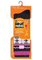 Heat Holders Dames Thermosokken 37-42 rivington black