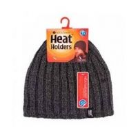 Heat Holders Heren Muts one size charcoal