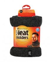 Heat Holders Heren neck warmer one size charcoal