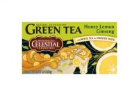 Celestial Seasonings Green Tea honey lemon ginseng 20 theebuiltjes
