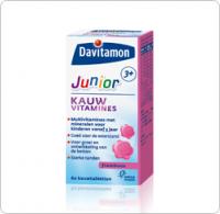 Junior 3+ Framboos Davitamon gezondheidswebwinkel