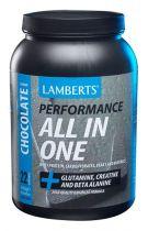 Lamberts All In One Chocola 1450 gram gezondheidswebwinkel