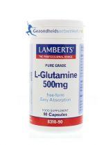 Lamberts L-Glutamine 500 mg 90 capsules gezondheidswebwinkel