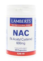 Lamberts N acetyl cysteine 60 capsules