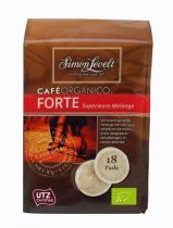 Levelt Cafe organico forte superoir koffie 18 pads gezondheidswebwinkel
