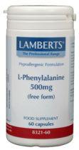 Lamberts L Phenylalanine 500 mg. 60 capsules