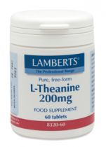 Lamberts L Theanine 200 mg. 60 tabletten