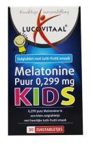 Lucovitaal Melatonine kids puur 0.299 mg 30 tabletten