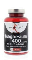 Lucovitaal Magnesium 400 l tryptofaan 120 capsules