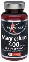 Lucovitaal Magnesium 400 l tryptofaan gezondheidswebwinkel