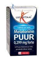Lucovitaal Melatonine 0.299 mg 500 tabletjes