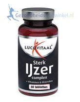 Lucovitaal Sterk ijzer Complex 30 tabletten gezondheidswebwinkel.jpg