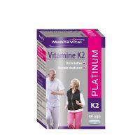 Mannavital Vitamine K2 platinum 60 capsules gezondheidswebwinkel