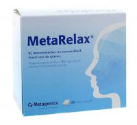Metagenics Metarelax 20 sachets gezondheidswebwinkel