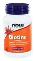 NOW Biotine 1000mcg 100 capsules gezondheidswebwinkel