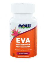 NOW Eva multi vitamine voor vrouwen 90 tabletten gezondheidswebwinkel