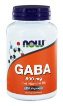 NOW GABA 500mg 100 capsules gezondheidswebwinkel