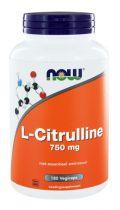 NOW L-Citrulline 750 mg 180 Vegi Capsules gezondheidswebwinkel
