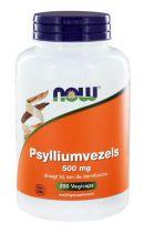 NOW Psylliumvezels 500 mg 200 capsules gezondheidswebwinkel