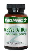 Nutramedix Resveratrol 60 capsules gezondheidswebwinkel