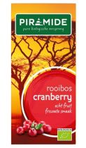 Piramide Cranberry rooibos bio thee gezondheidswebwinkel
