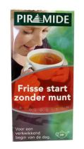 Piramide Frisse start zonder munt thee gezondheidswebwinkel