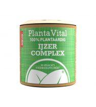 PlantaVital IJzer Complex 30 vegi capsules